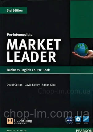 Учебник Market Leader (3rd Edition) Pre-Intermediate Course Book + DVD-ROM