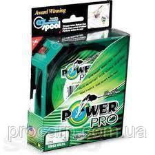 Шнур Power Pro Green 125 м 0.18 мм 13 кг