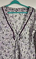 Стильна  натуральна туніка Розмір 40-42, фото 2