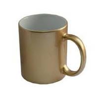 Чашка с нанесением фото золотая. Печать на чашках, фото 1