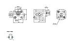 Шестеренчатый (шестерной) гидравлический насос Hydro-pack 00R0,3X051 (серия 00), фото 2