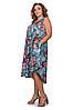 Удлиненный сарафан женский яркий интернет магазин размеры 52-56, фото 2