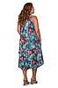 Удлиненный сарафан женский яркий интернет магазин размеры 52-56, фото 3
