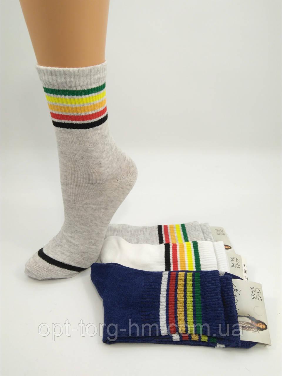"""Носки полоска """"Кosmi"""" (35-38 обувь)"""