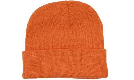 Шапка зимняя мужская/женская оранжеваяHeadwear proffesional - OR4243
