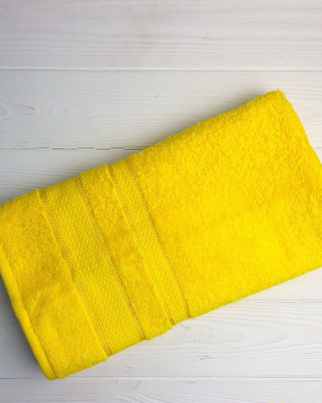 Полотенце Uztex Group 50х90 см. Желтый 1044
