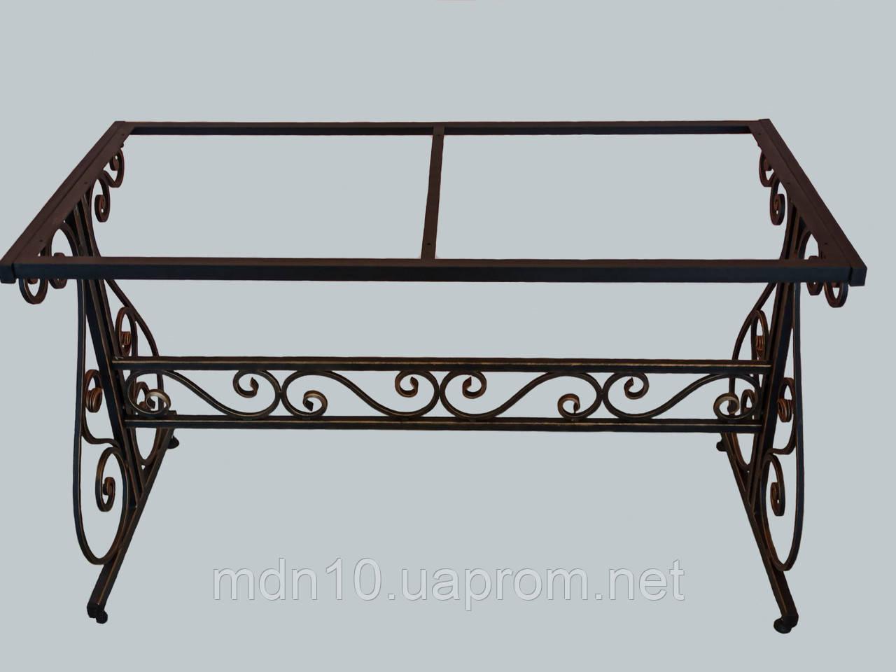 Каркас стола садового кованого ( 120x60 см)