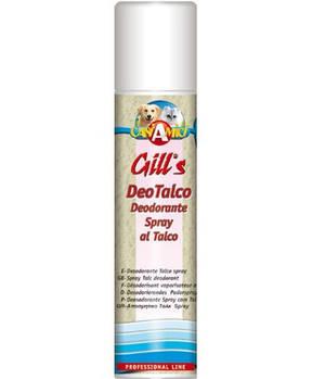Дезодорант-спрей GILL'S с тальком, для котов и собак, 250мл