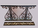 Каркас стола садового кованого ( 120x60 см), фото 10