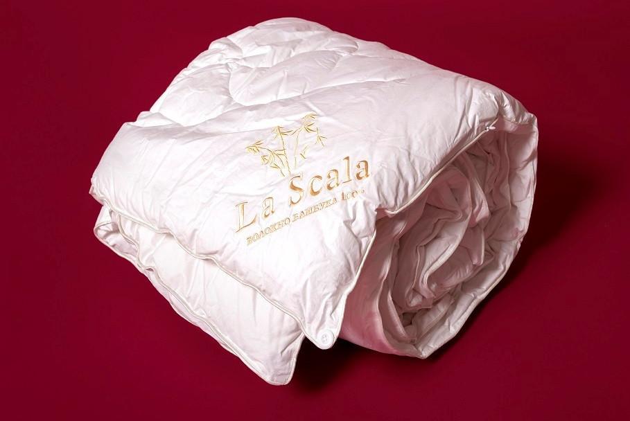 Одеяло бамбуковое полуторное 160х220 LA SCALA ODB