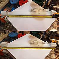 Светильник люминесцентный накладной 1x15W (g13) в сборе с проводом вилкой и выключателем