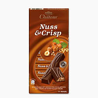 "Шоколад Chateau ""NUSS & CRISP"" 200 гр."