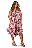 Летний женский сарафан удлиненный размеры 52-56, фото 4