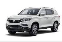 Коврики автомобильные в салон Ssang Yong Rexton 2017-...