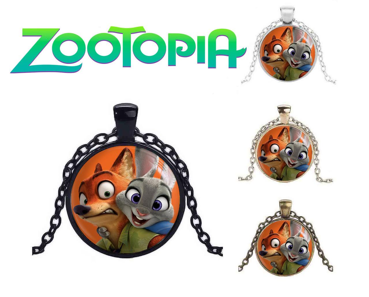 "Кулон Зверополис ""Счастливая Крольчиха"" / Zootopia"