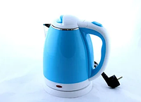 Чайник электрический из нержавеющей стали Domotec MS-5024B синий