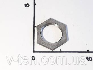 """Гайка стальная шестигранная с внутренней резьбой 1 1/4"""" (42мм)"""