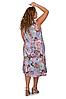 Летний сарафан женский удлиненный размеры 52-56, фото 4