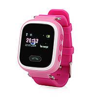 Детские Смарт-часы Smart baby Watch Q60 РОЗОВЫЕ