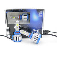 Светодиодные LED лампы T1-H11 для автомобиля / автолампы HeadLight TurboLed