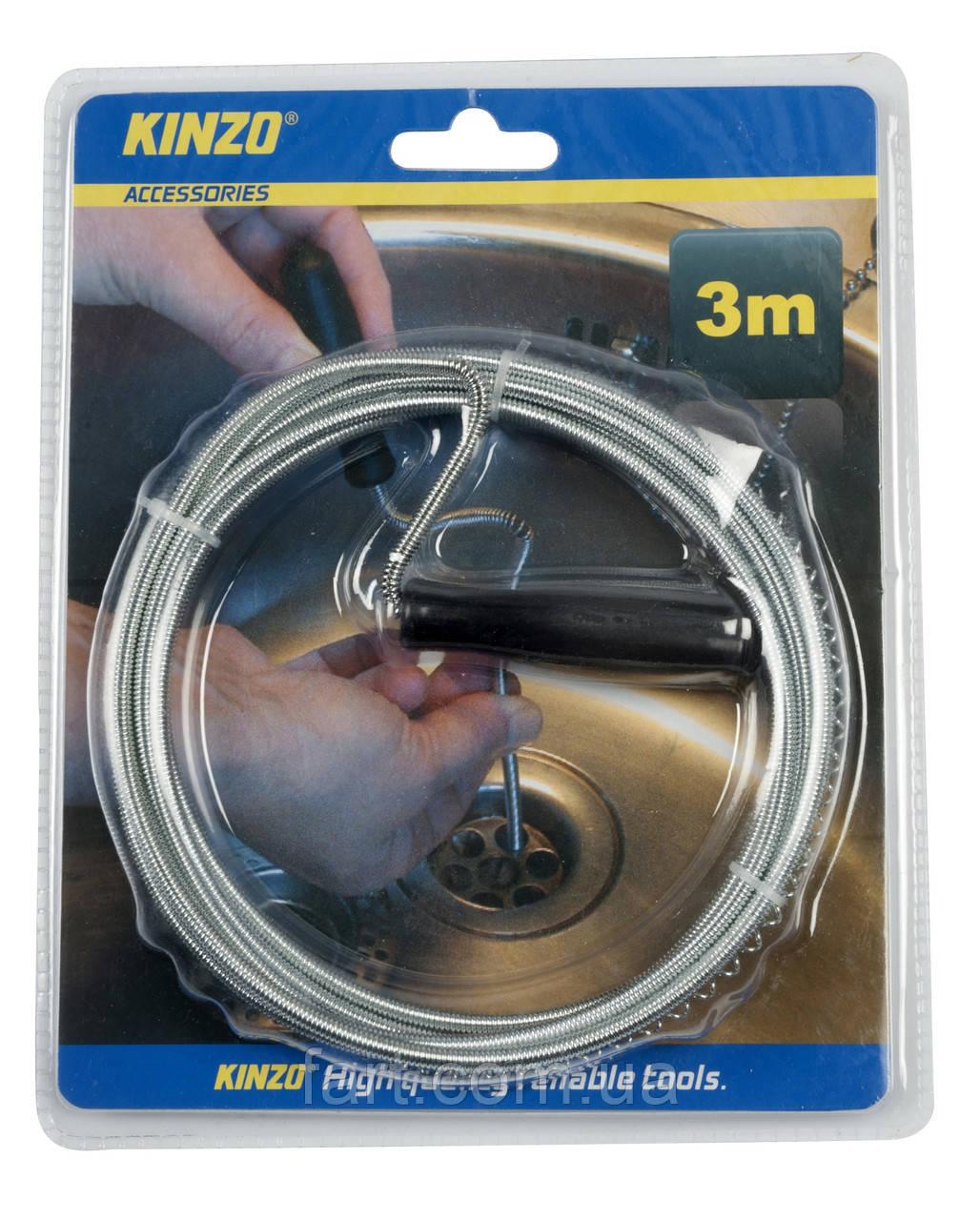 Проволочный очиститель для раковины 3 м Kinzo KZ 79749