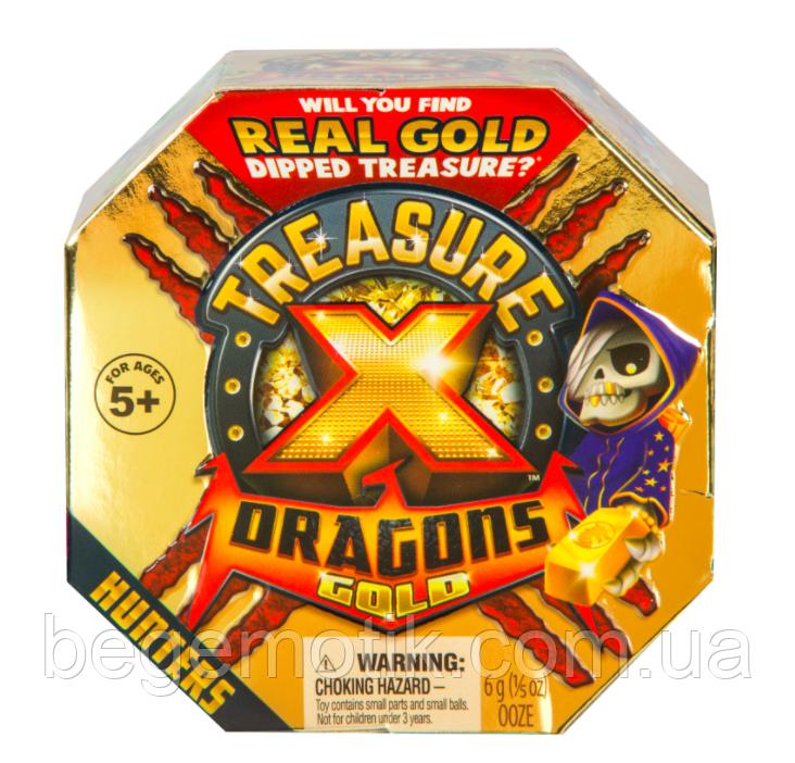 Игровой набор Treasure X Раскопки 2 Золото драконов Пираты в поисках сокровищ Treasure X Quest For Dragon