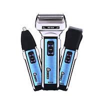 Электробритва Триммер и машинка для стрижки 3 в 1 Gemei GM-589 / мужская электробритва
