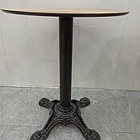База, Ножка, опора стола чугунная с фигурным основанием