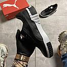 Puma Cali Black Leather, фото 3