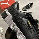 Puma Cali Black Leather, фото 7