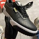 Puma Cali Black Leather, фото 8