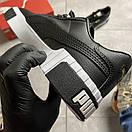 Puma Cali Black Leather, фото 5