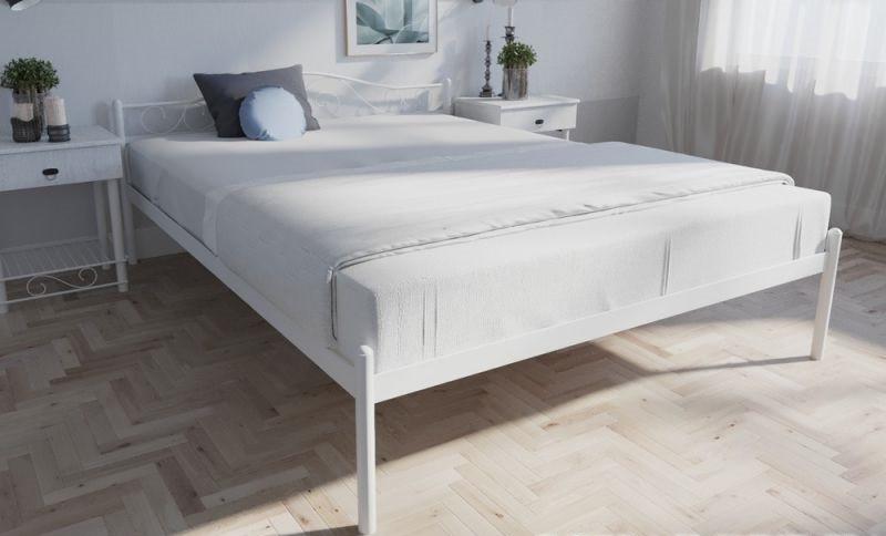 Кровать двуспальная металлическая Элис TM Melbi