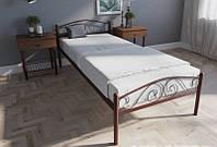 Кровать односпальная металлическая Айгуль TM Lavito