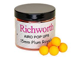 Бойлы плавающие Richworth Airo Pop-Up Plum Royale 15мм, 200мл