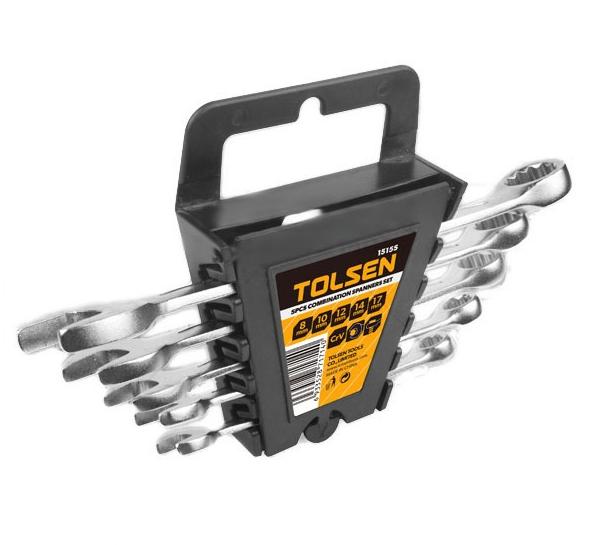 Набор ключей рожково-накидных 8-19 мм, Tolsen (15155)