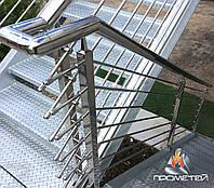 Металлические лестницы на второй этаж, фото 1