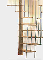Винтовая лестница MERCURE хвоя Ø140 см