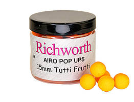 Бойлы плавающие Richworth Airo Pop-Up Tutti Frutti  15мм, 200мл