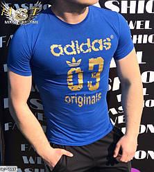 Мужская футболка стильная цвета Новинка 2020 есть другие цвета