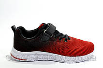 Детские кроссовки на липучке Baas, Red\Black\White, фото 2