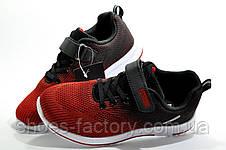 Детские кроссовки на липучке Baas, Red\Black\White, фото 3