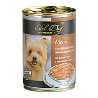 Edel Dog 400 г (индейка и печень в соусе)