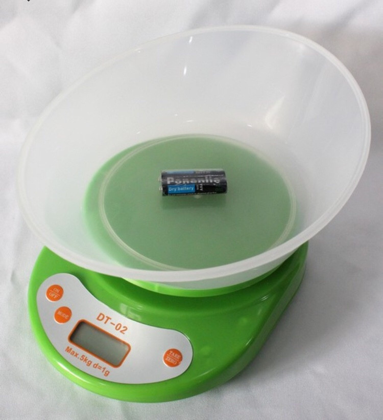 Кухонні ваги з чашею D&T DT-02