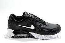 Кроссовки унисекс в стиле Nike Air Max 90, Black\White, фото 3