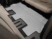 Ковры резиновые WeatherTech Toyota Sequoia 2008+ третий ряд серый ( для авто 2-й ряд с цельным сиденьем )