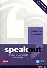 Рабочая тетрадь  Speak Out Upper-Intermediate Work book+key+CD