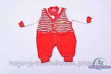 Комбинезон детский велюровый 4009 Размер:62