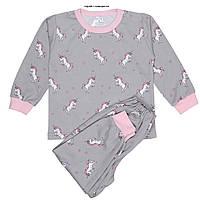 Пижама детская Татошка для девочки интерлок 6 цветов Рост:80-110 см, фото 1