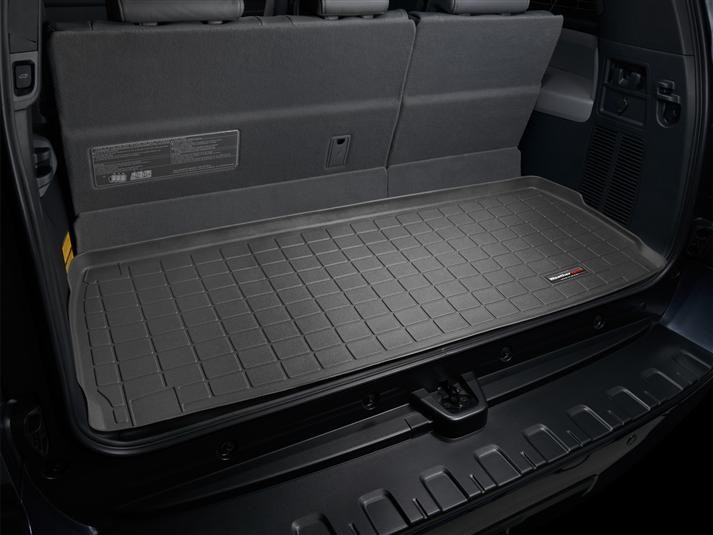Ковер резиновый WeatherTech Toyota Sequoia 2008+ в багажник черный